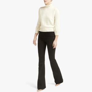 CO peasant sleeve wool sweater